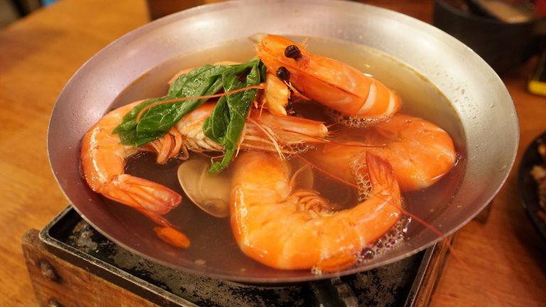 三峽美食-八條壽司-三峽大同牙醫植牙患者推薦-酒煮大蝦