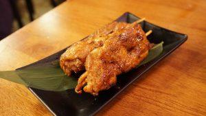 三峽美食-八條壽司-三峽大同牙醫植牙患者推薦-雞肉串